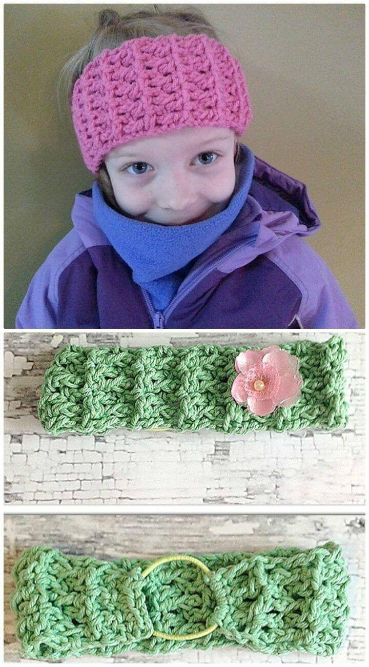 Easy Free Crochet Classic Stretch Headband Pattern