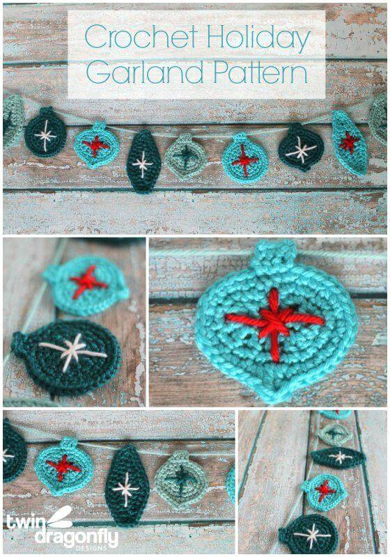 Easy Free Crochet Garland Blog Hop Pattern