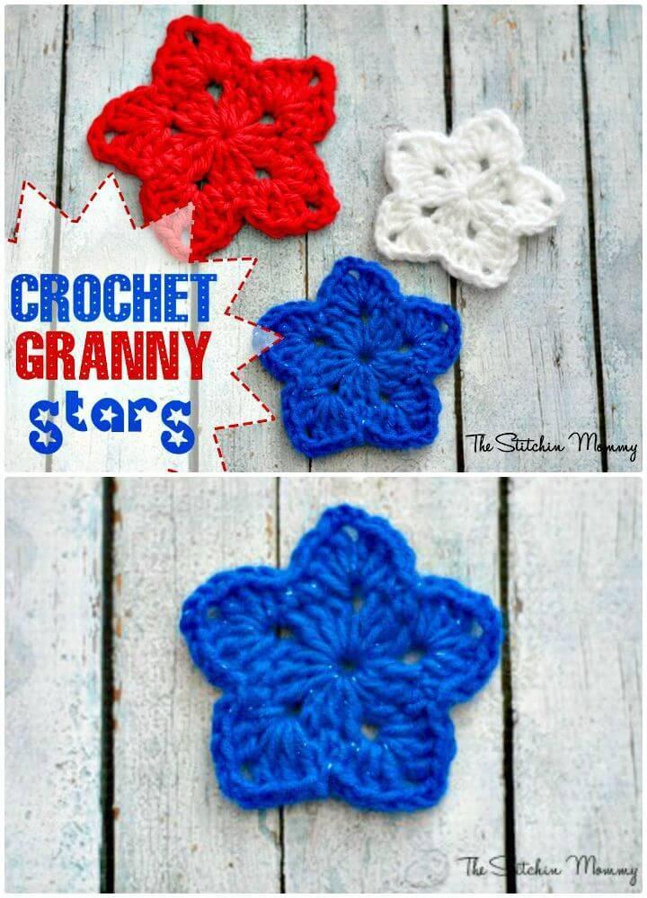 Crochet Granny Star - Free Pattern