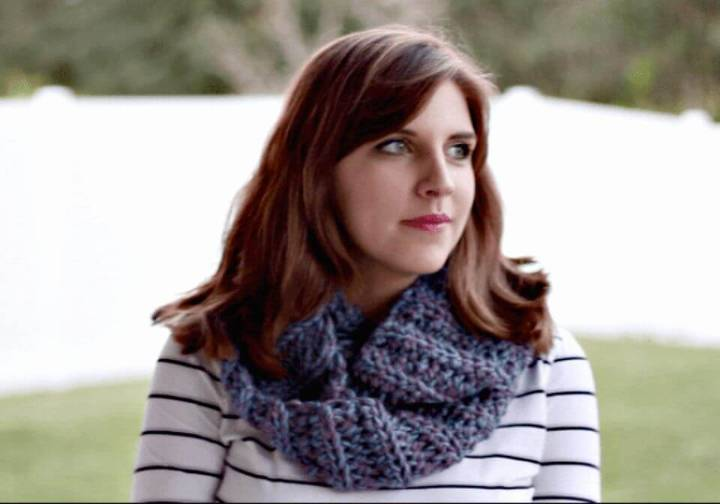 Easy Free Crochet Infinity Scarf In 2 Hours Pattern