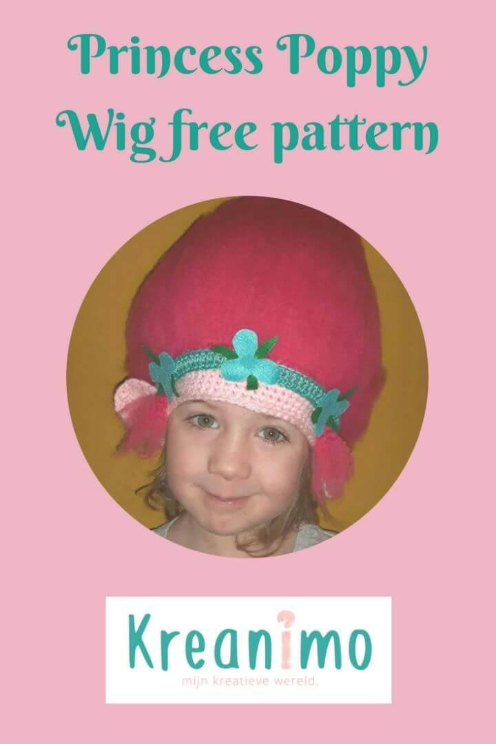 Free Crochet Princess Poppy Hat Pattern