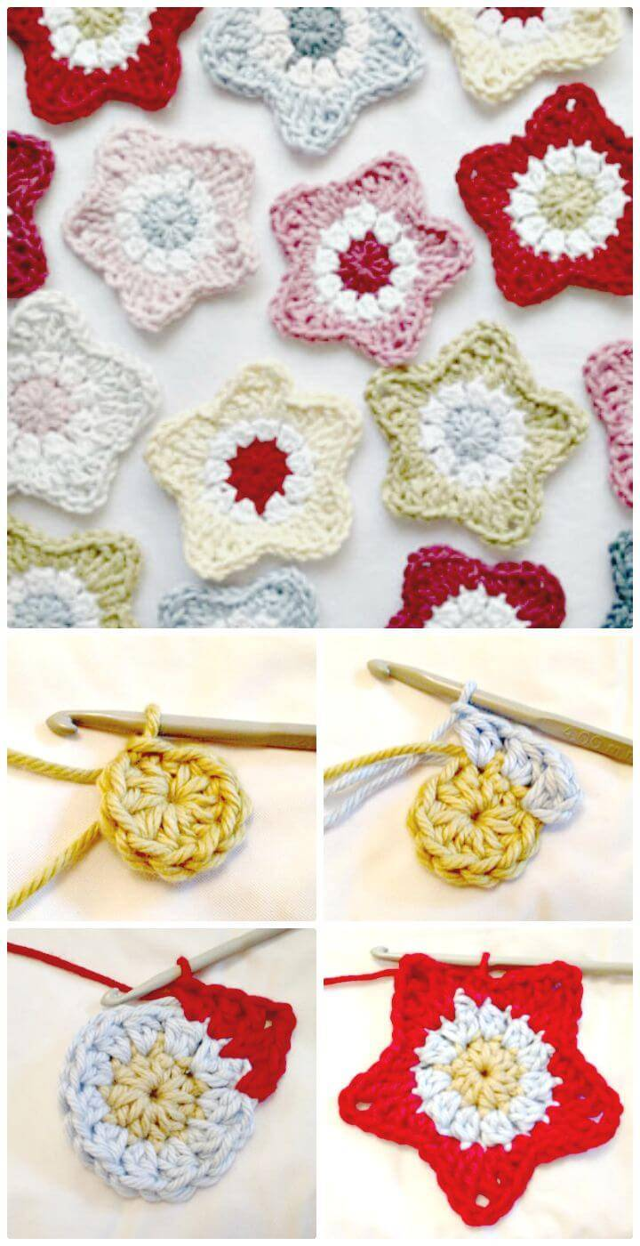 How to Crochet Star - Free Pattern