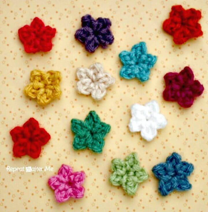 Free Crochet Teeny Tiny Stars Pattern