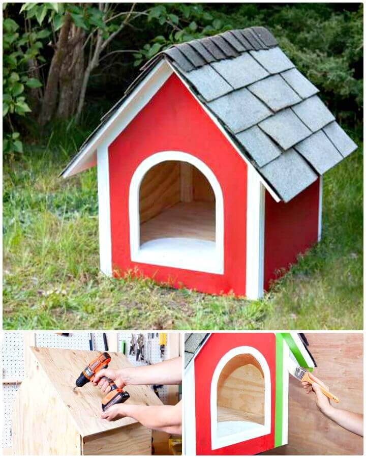 DIY A Dog House Step By Step Tutorial