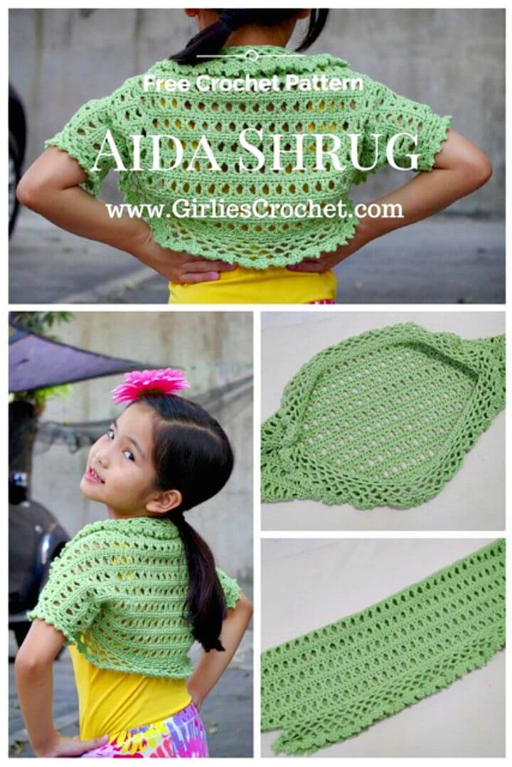 Crochet Shrug Patterns 20 Free Unique Designs Diy Crafts