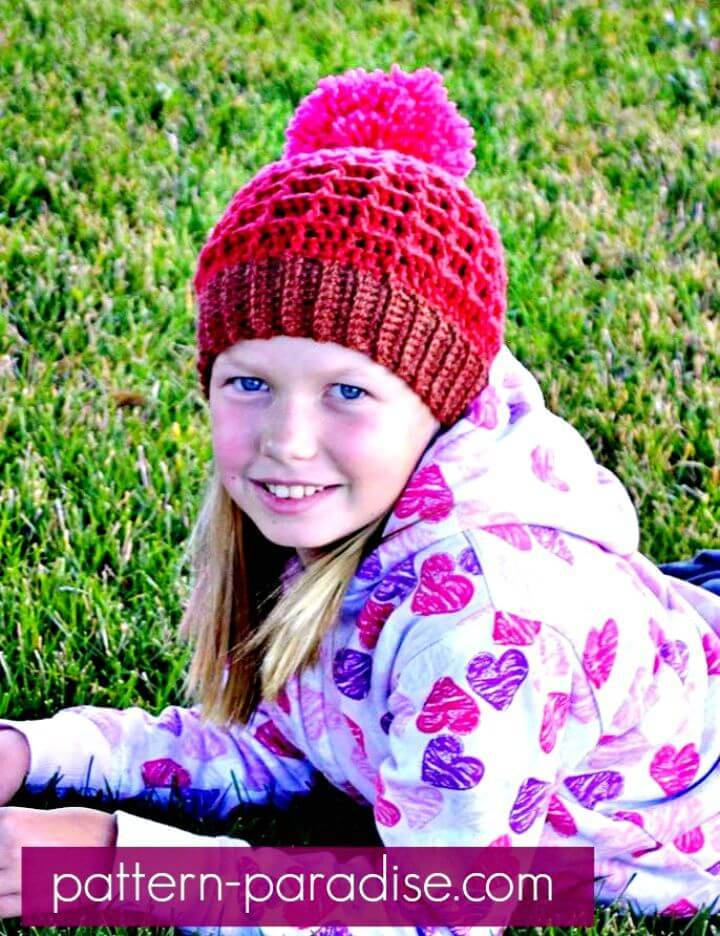 How To Free Crochet Alpine Nights Beanie Pattern