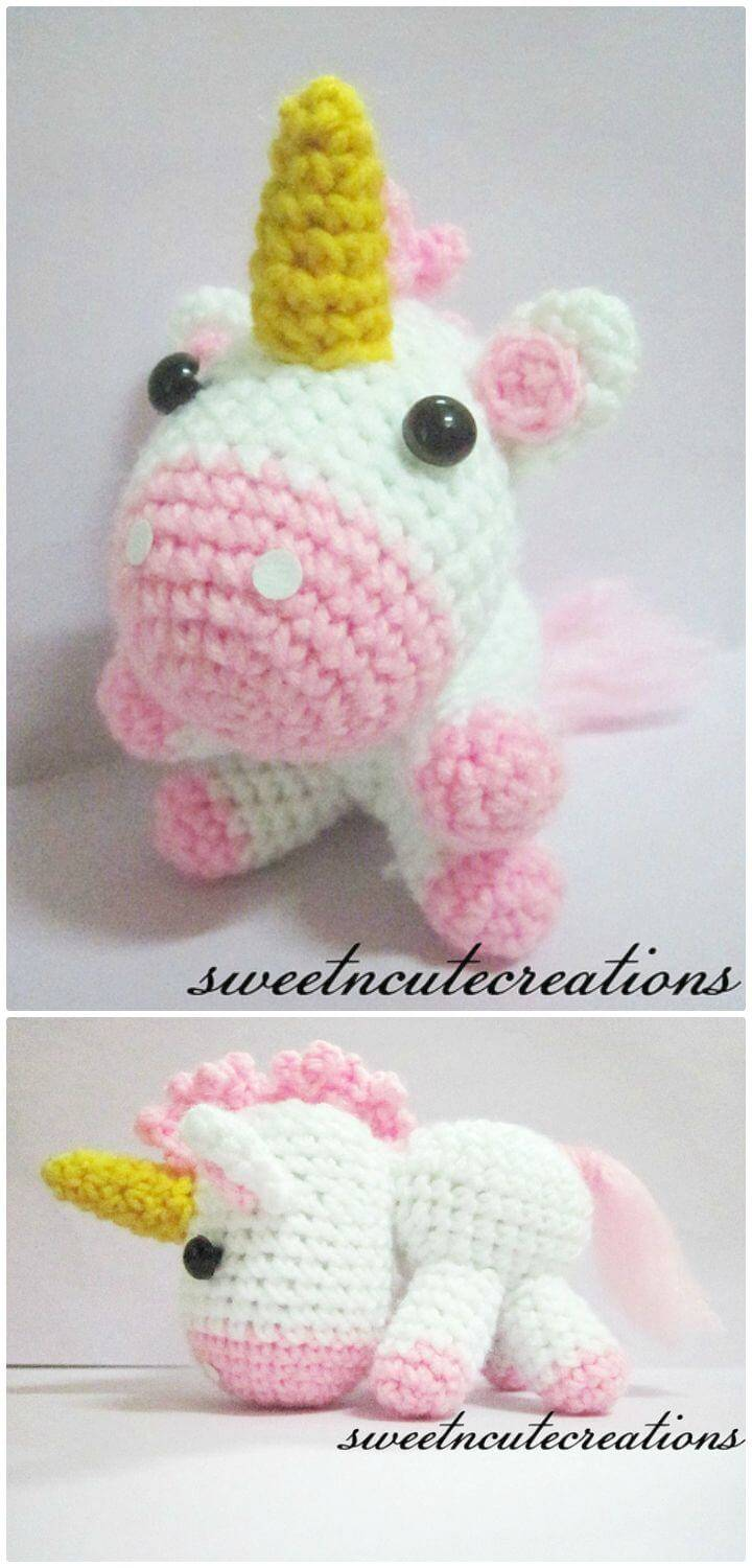 MÖNSTER ENHÖRNING | Crochet unicorn pattern, Crochet unicorn pattern free,  Crochet toys free | 1500x720