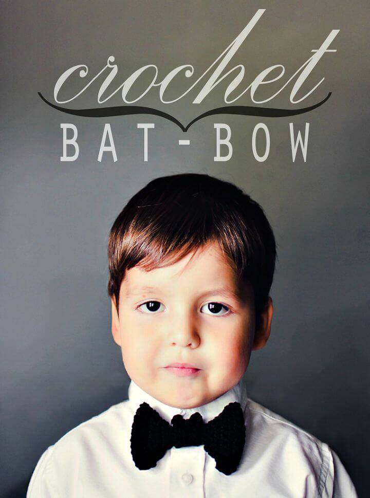 Free Crochet Bat Bow Pattern