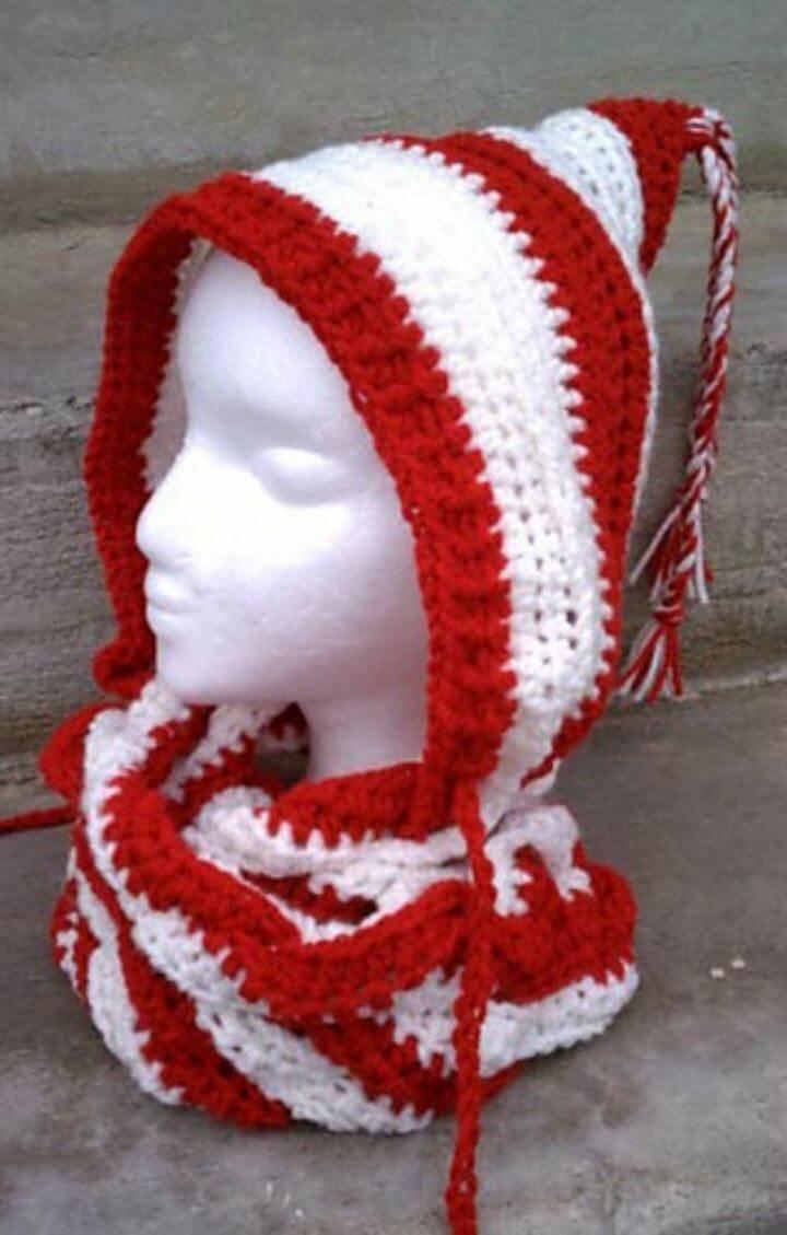 31 Free Crochet Hooded Scarf Patterns - DIY & Crafts