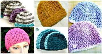 16 Free Crochet Cap Patterns / Crochet Hat