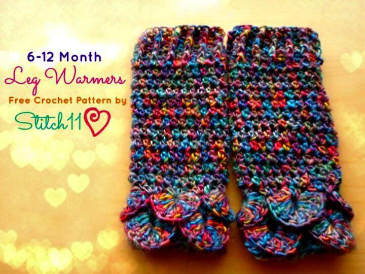 How To Crochet Month Leg Warmers