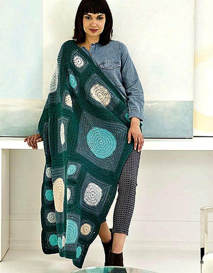 Free Crochet Framhurst Afghan Pattern