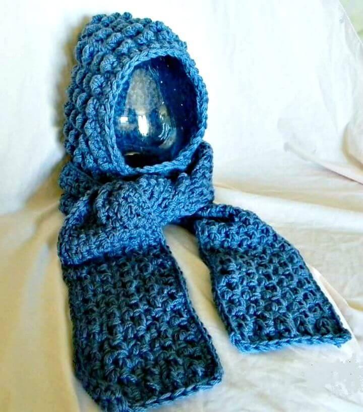 31 Free Crochet Hooded Scarf Patterns Diy Crafts