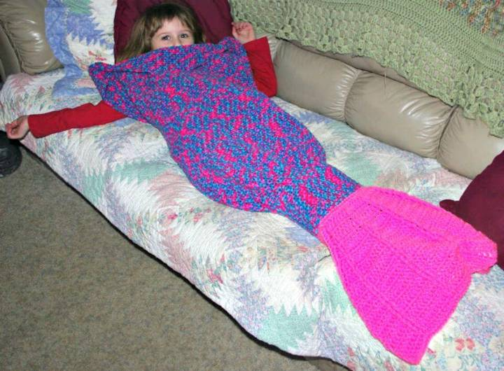 Free Crochet Julee's Mermaid Tail Pattern