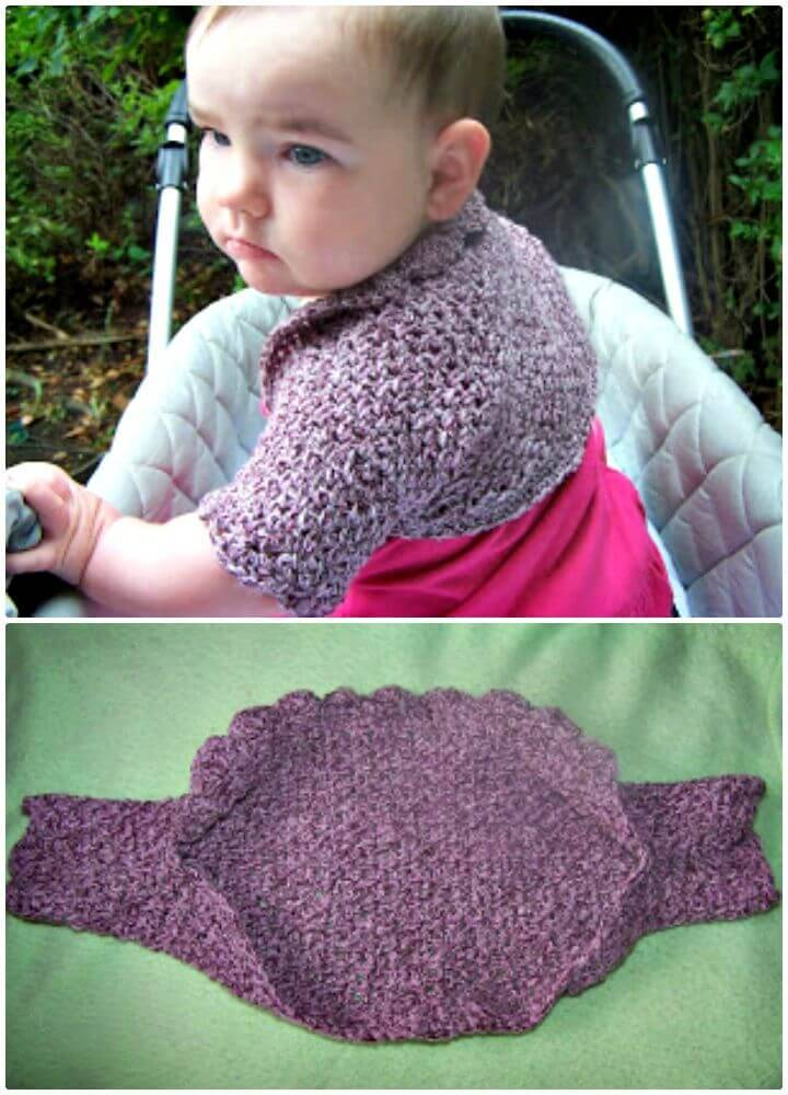 How To Free Crochet Just A Shrug Pattern