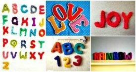 Free Crochet Letters Pattern
