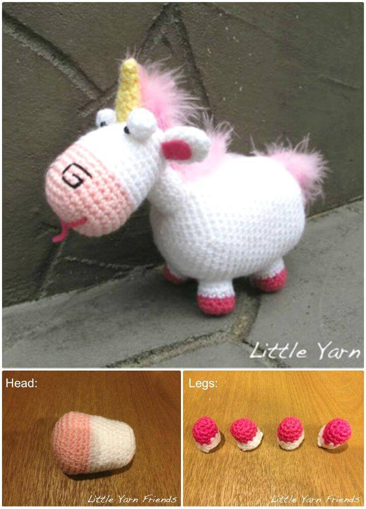 Shy Little Unicorn | Little unicorn, Crochet toys, Toys | 1000x720