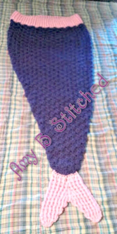 Easy Free Crochet Mermaid Tail Cocoon Pattern
