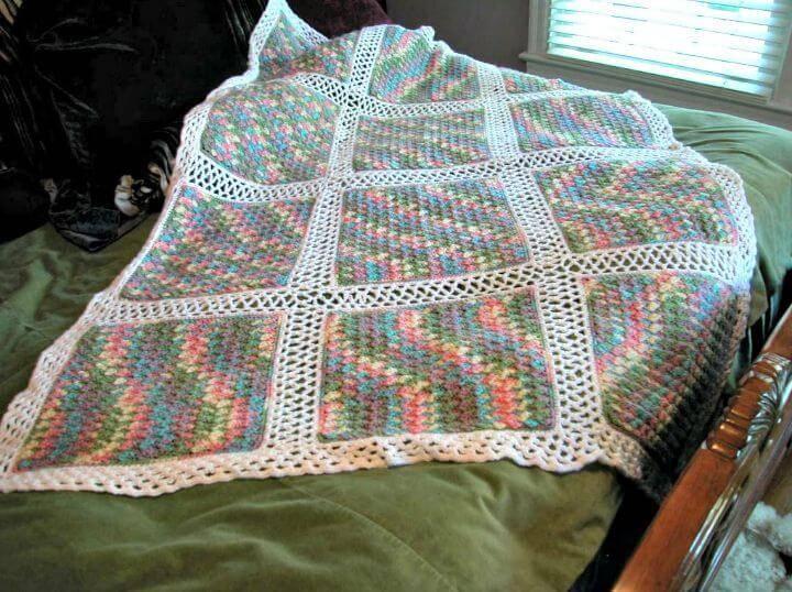 Crochet Monet Afghan - Free Pattern