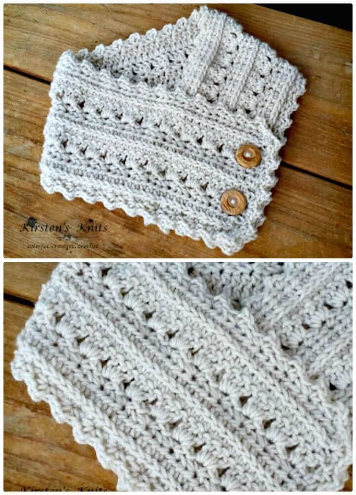Free Crochet Primrose And Proper Cowl Pattern