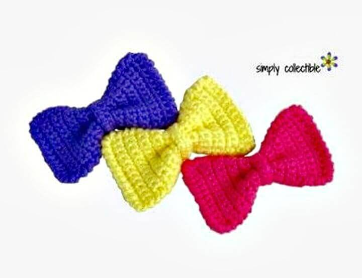 Easy Free Crochet Sassy Bow Pattern