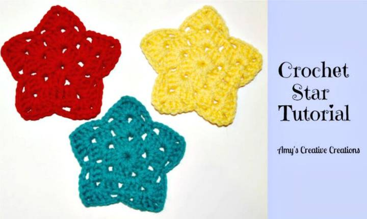 Free Crochet Star Ornament with Video