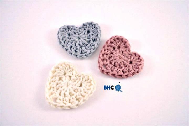Easy Free Crochet Sweet Hearts Pattern