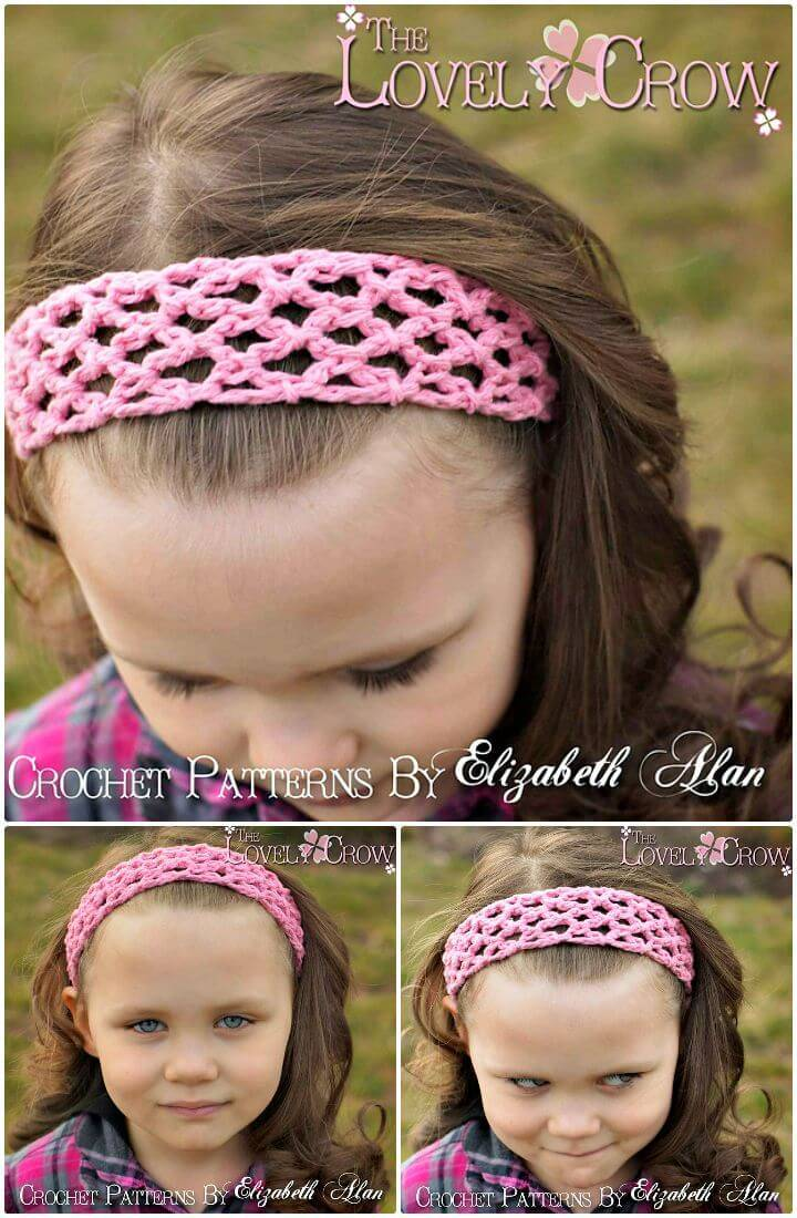 Easy Free Crochet The Genius Headband Pattern