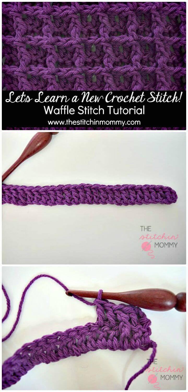 How to Crochet Waffle Stitch - Free Pattern