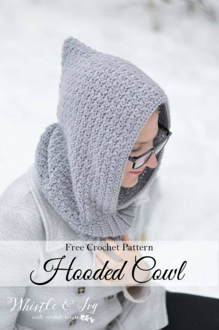 28 Free Crochet Hooded Cowl Patterns Diy Crafts