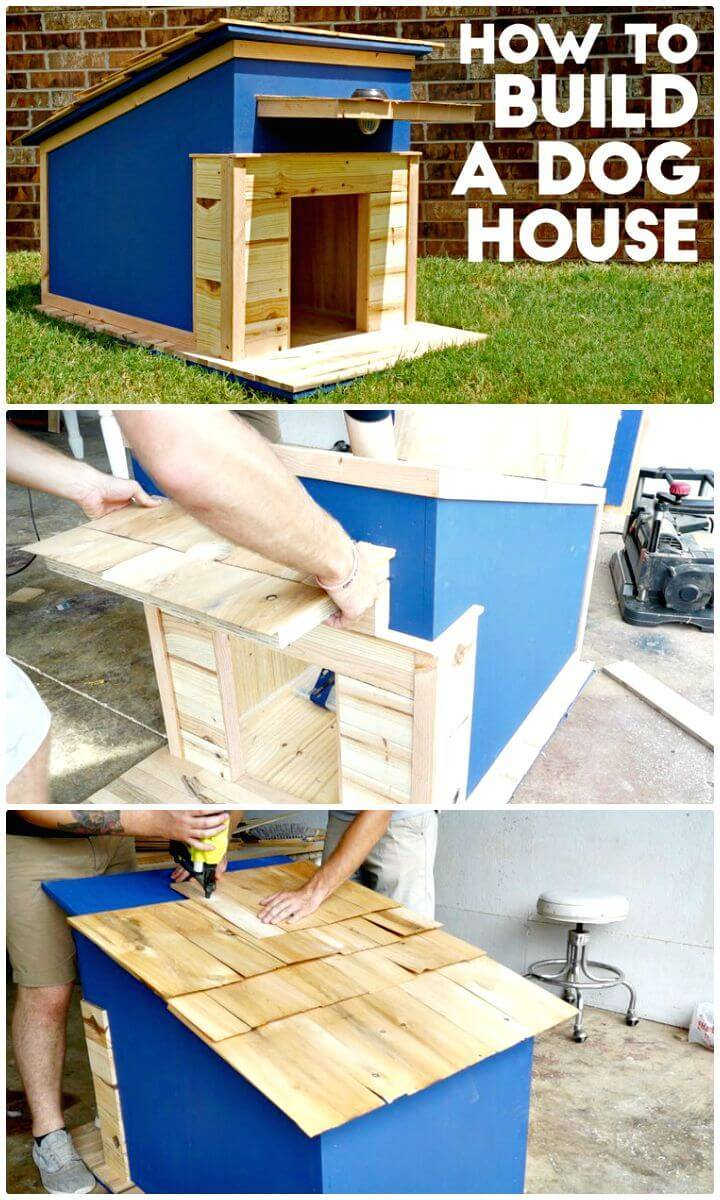 How To Build A Dog House Tutorial