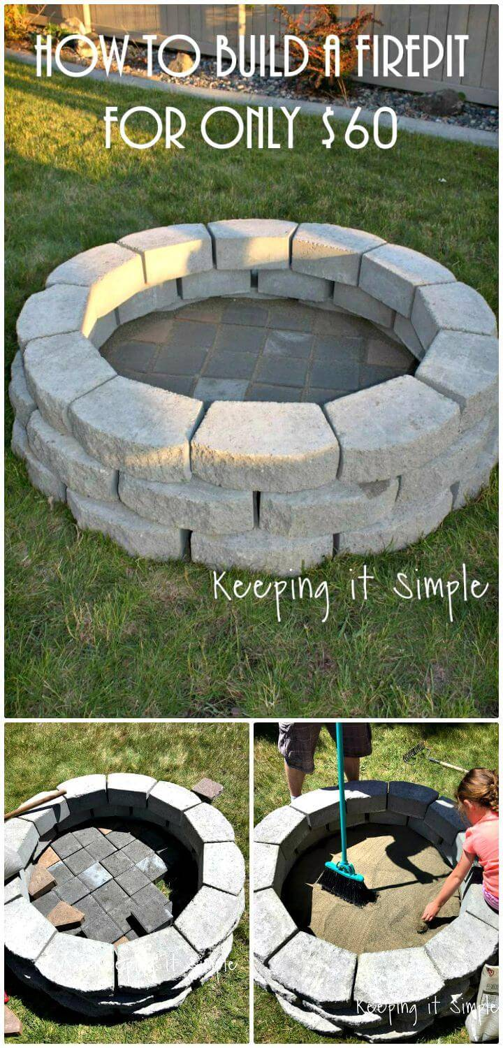 DIY A Fire Pit For Only $60