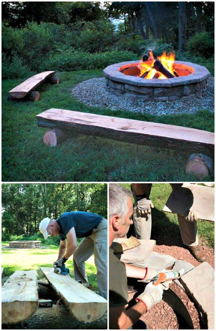 Easy How To Build A Fire Pit In Your Backyard