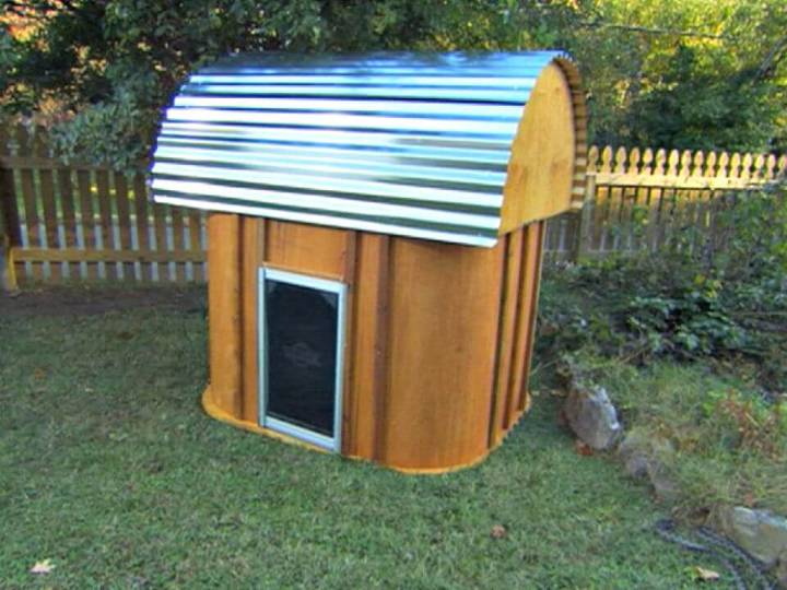 DIY A Modern-style Doghouse Tutorial