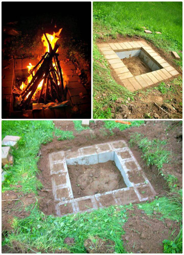 Build A Simple Fire Pit Tutorial