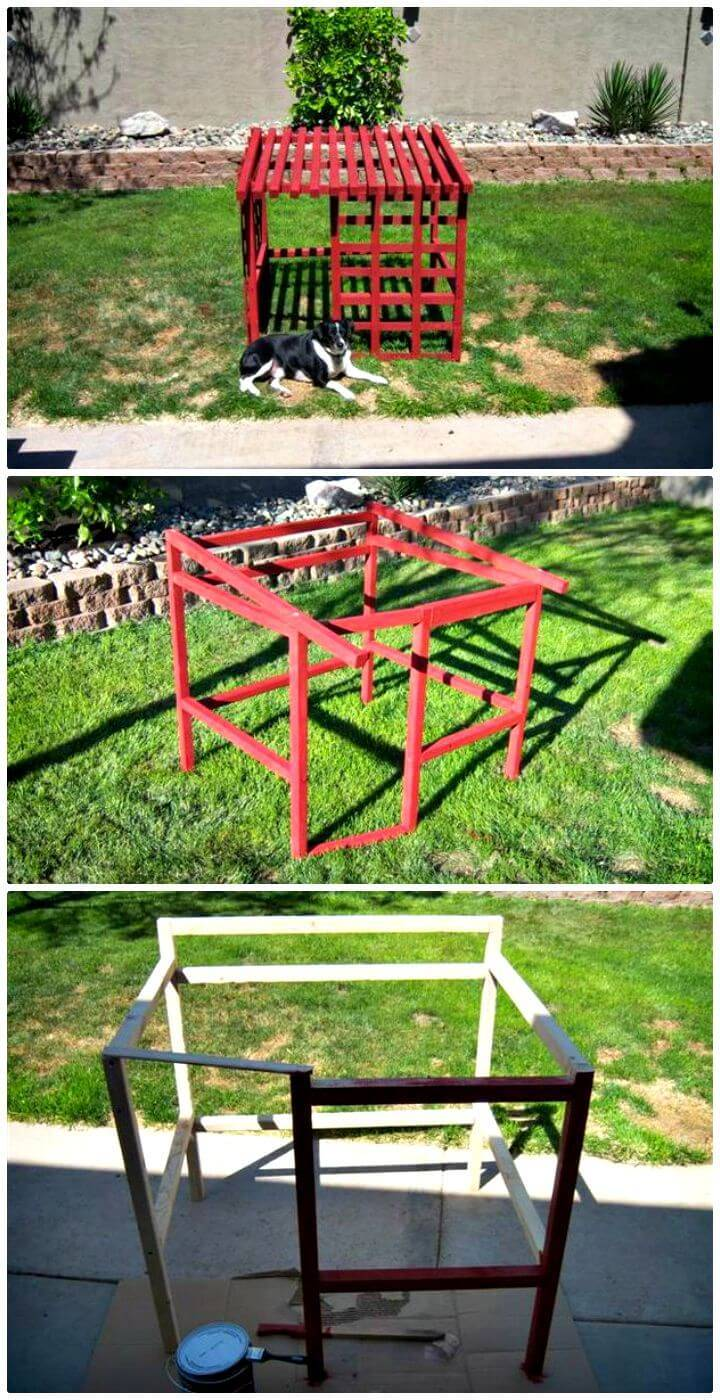 Easy How To Build An Open Air Doghouse Tutorial