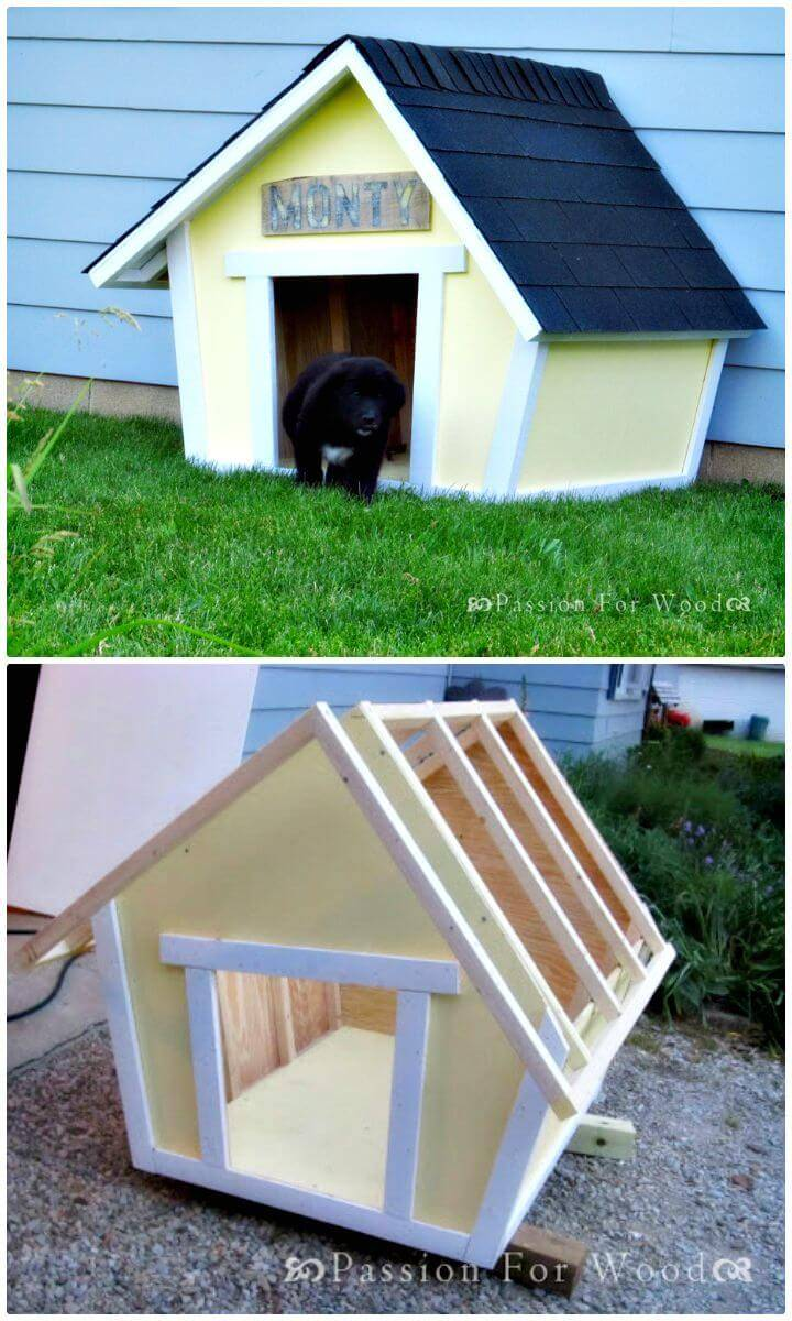 Easy How To Build Crooked Doghouse Tutorial