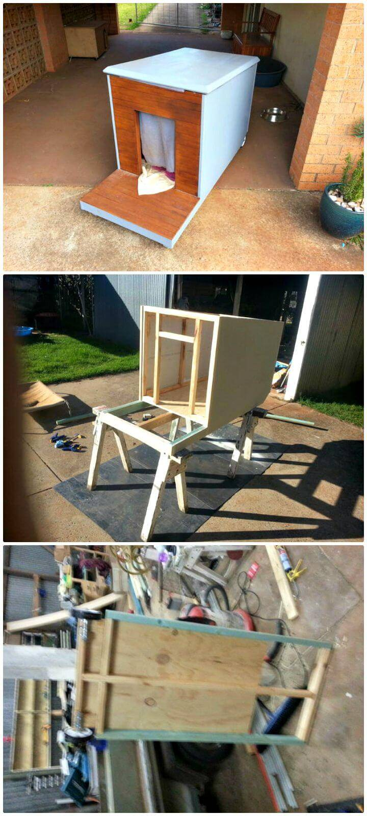 Easy DIY Mobile Dog House Tutorial