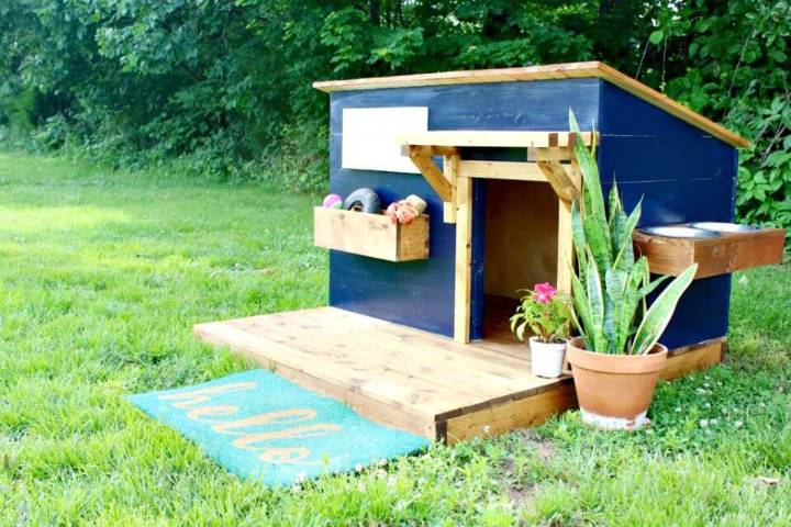45 easy diy dog house plans ideas you should build this for Build your own modern house