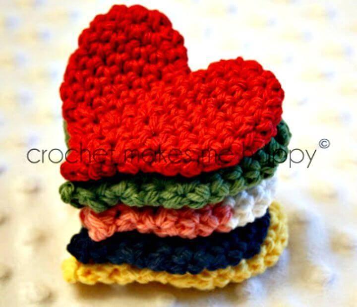 Easy Crochet The Heart - Free Pattern