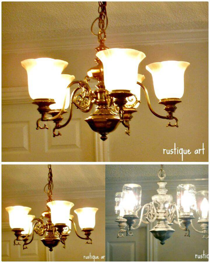 DIY Mason Jar Chandelier - Free Tutorial