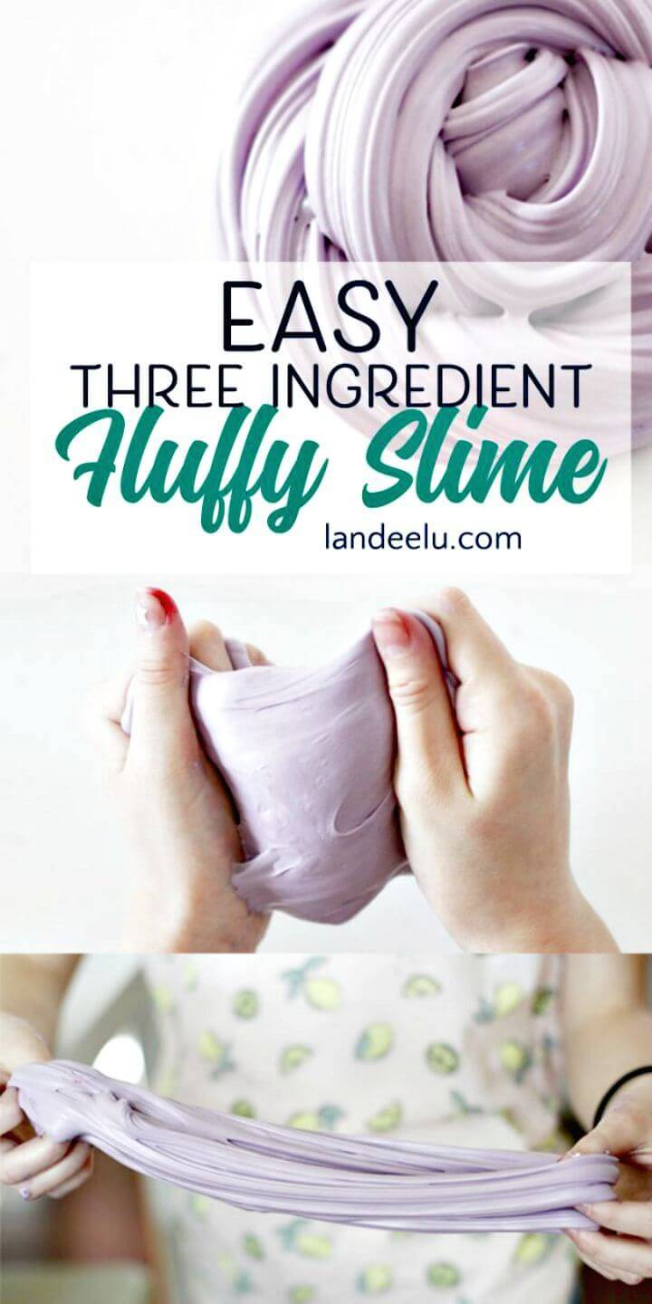 Easy To Make Fluffy Slime - Free Tutorial