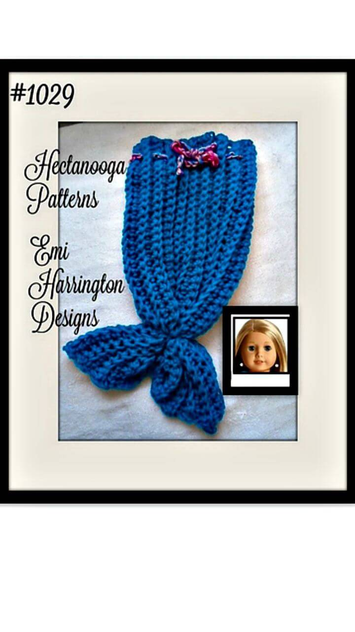how to make a crochet mermaid tail