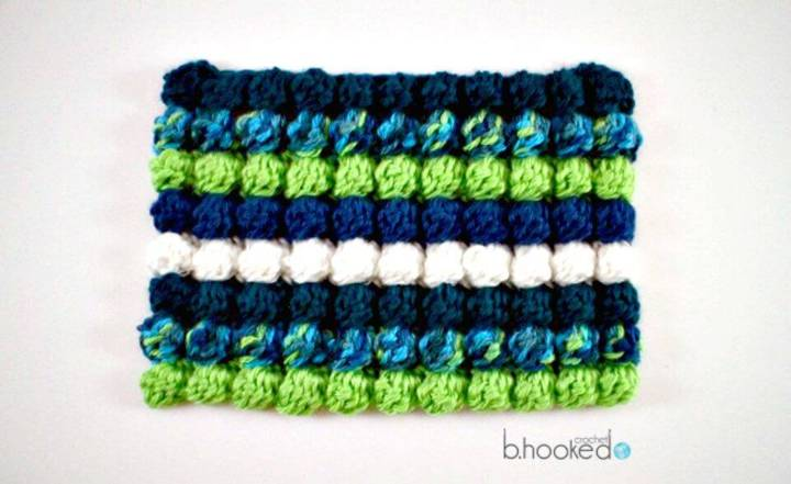 Easy Free Crochet Bobble Stitch Pattern