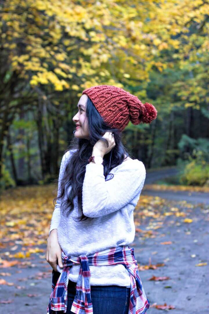 Easy Free Crochet Cables + Free Beanie Pattern + Video