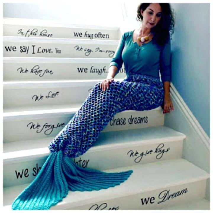 Free Crochet Mermaid Tail Adult Size Pattern