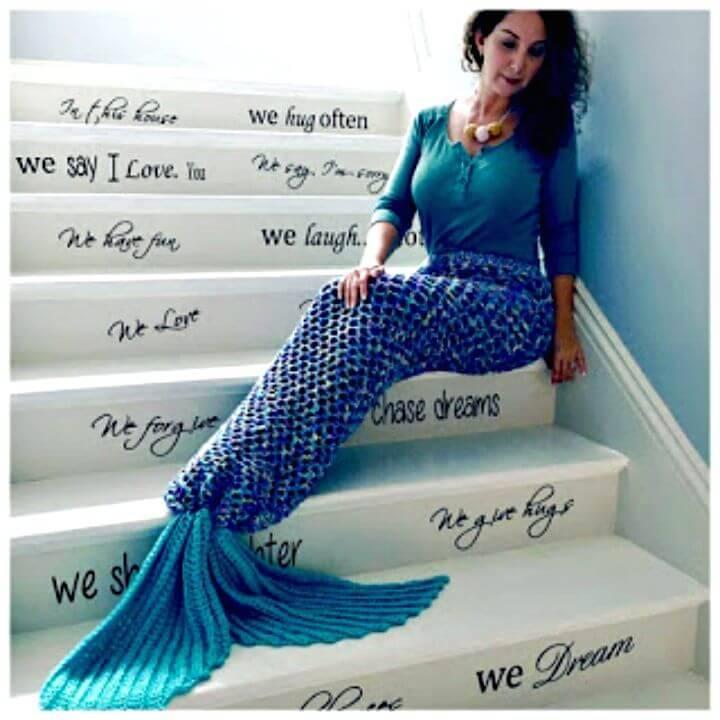 Free Crochet Mermaid Tail Adult Size Pattern