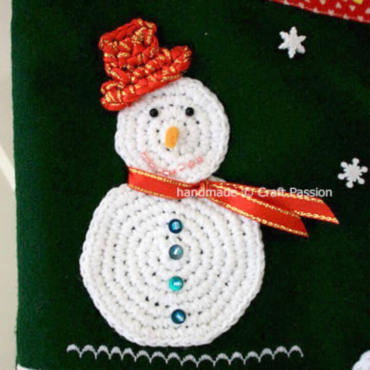 How To Free Crochet Snowman Pattern