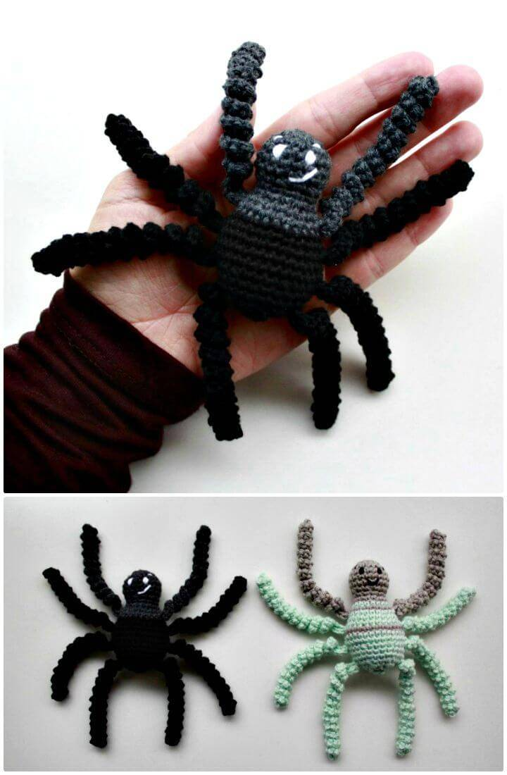 Easy Free Crochet Spider Pattern
