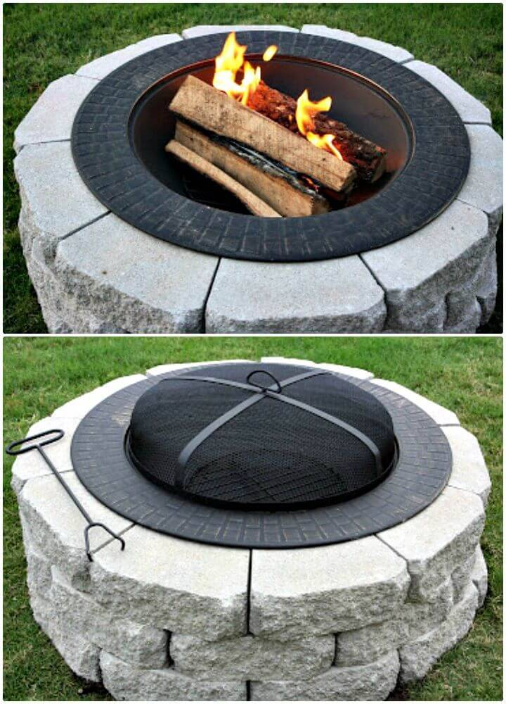 DIY A New Backyard Addition Fire Pit On A Budget